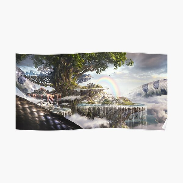 Yggdrasil, the Tree of Life Poster