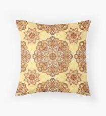 Ornate vintage vector napkin Floor Pillow