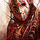 Jason Friday the 13th by Tomek Biniek