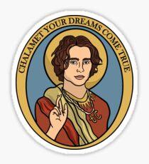 Chalamet Your Dreams Come True Sticker
