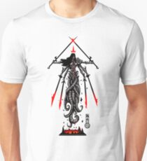 The Game of Kings, Wave Seven: The Black Queen Unisex T-Shirt