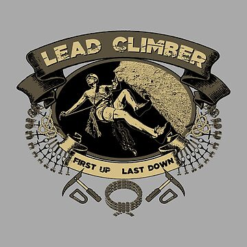 Lead Climber by GoMerchBubble