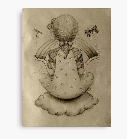 Cloud Nine drawing Canvas Print