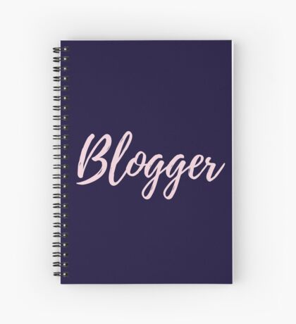 Blogger Spiral Notebook