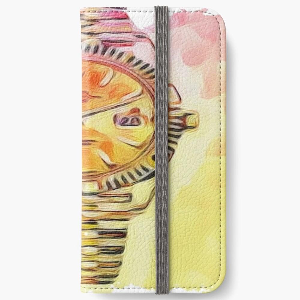 Uhrzeit Rolex iPhone Flip-Case