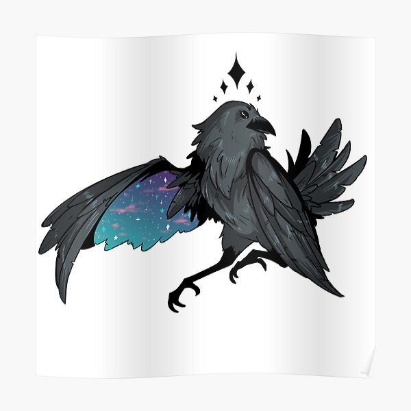 Space Raven Poster