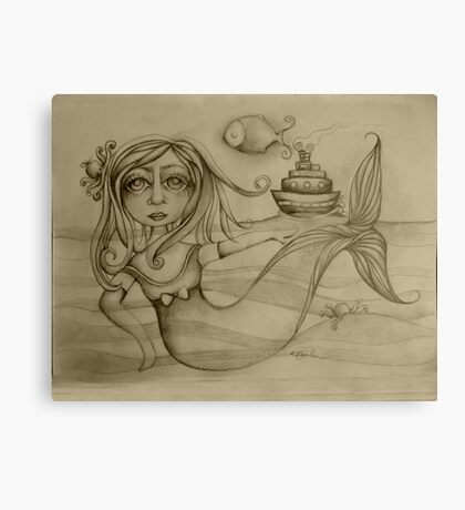 Rendezvous drawing Canvas Print