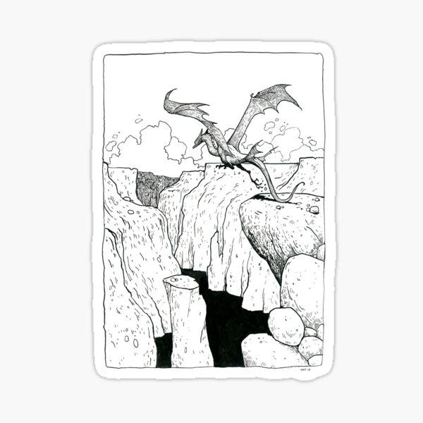 Cliff Jumper Sticker