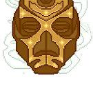 Dragon Priest Mask [Pixel] by SugaredTea