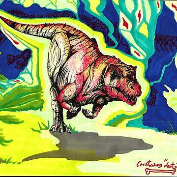 ceratosaure by catesith