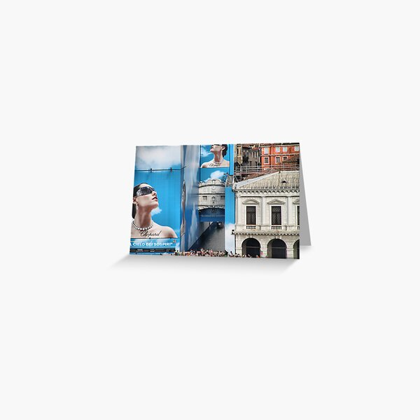 Whatever happened to The Bridge of Sighs? Greeting Card