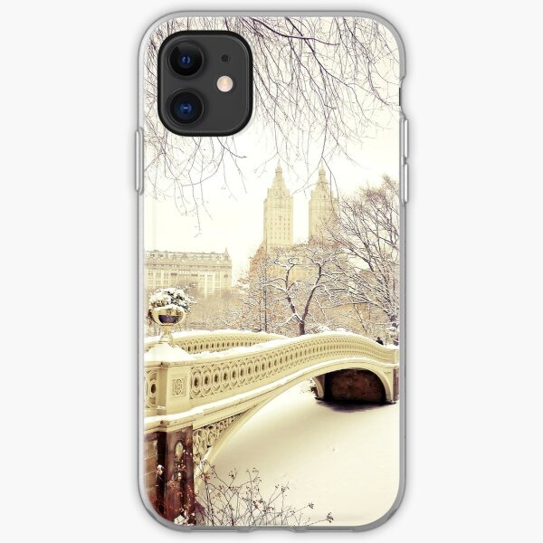 Fox In A Late Winter Snowfall iphone 11 case