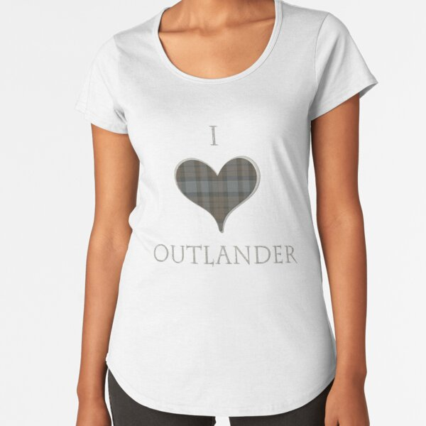 I LOVE OUTLANDER Premium Scoop T-Shirt