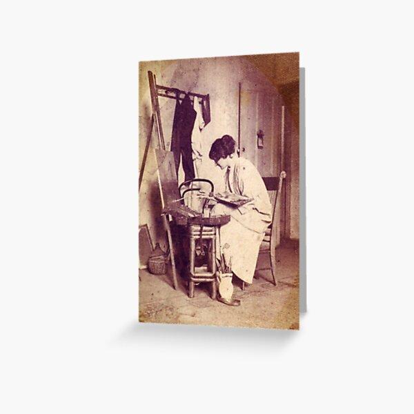 Janet Cumbrae Stewart - 1883 - 1960 Greeting Card
