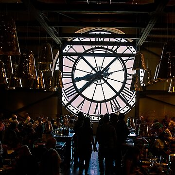 Clock Musee D'Orsay - Paris - France by Buckwhite