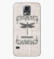 Funda/vinilo para Samsung Galaxy DRAGONFLY-SASSENACH paper