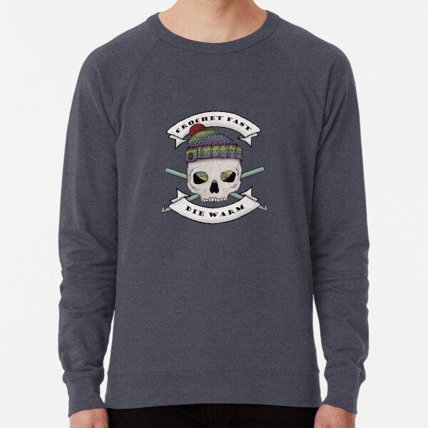 Crochet Fast Die Warm Lightweight Sweatshirt
