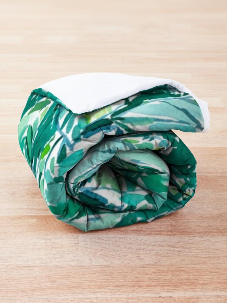 Alternate view of BANANA LEAF JUNGLE Comforter