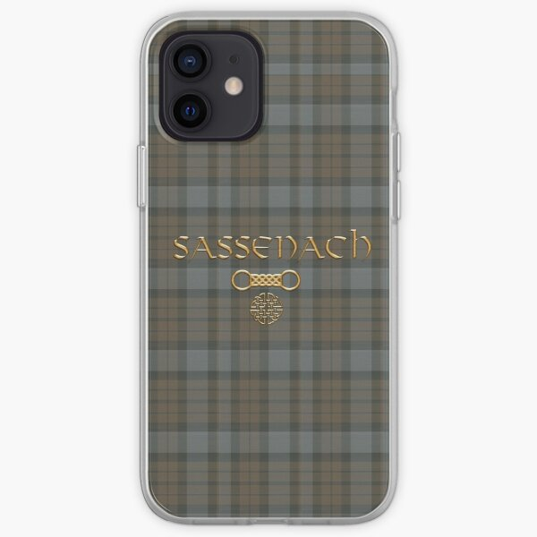 TARTAN SASSENACH iPhone Soft Case