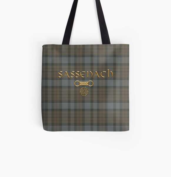 TARTAN SASSENACH All Over Print Tote Bag