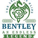 Legend T-shirt - Legend Shirt - Legend Tee - BENTLEY An Endless Legend by wantneedlove