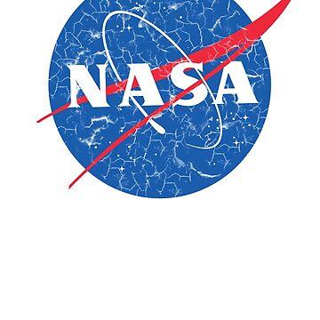 Cracked NASA Insignia Logo by martynesmerch