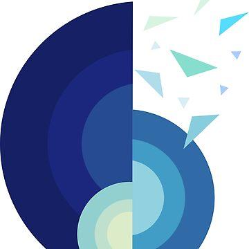 SHELL - MINIMALIST by HeliumArtStudio
