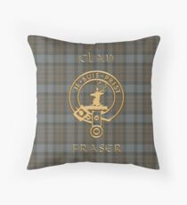 TARTAN SIMBOLO DORADO Throw Pillow