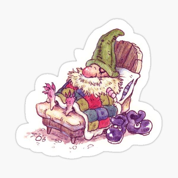 Nap Gnome Sticker