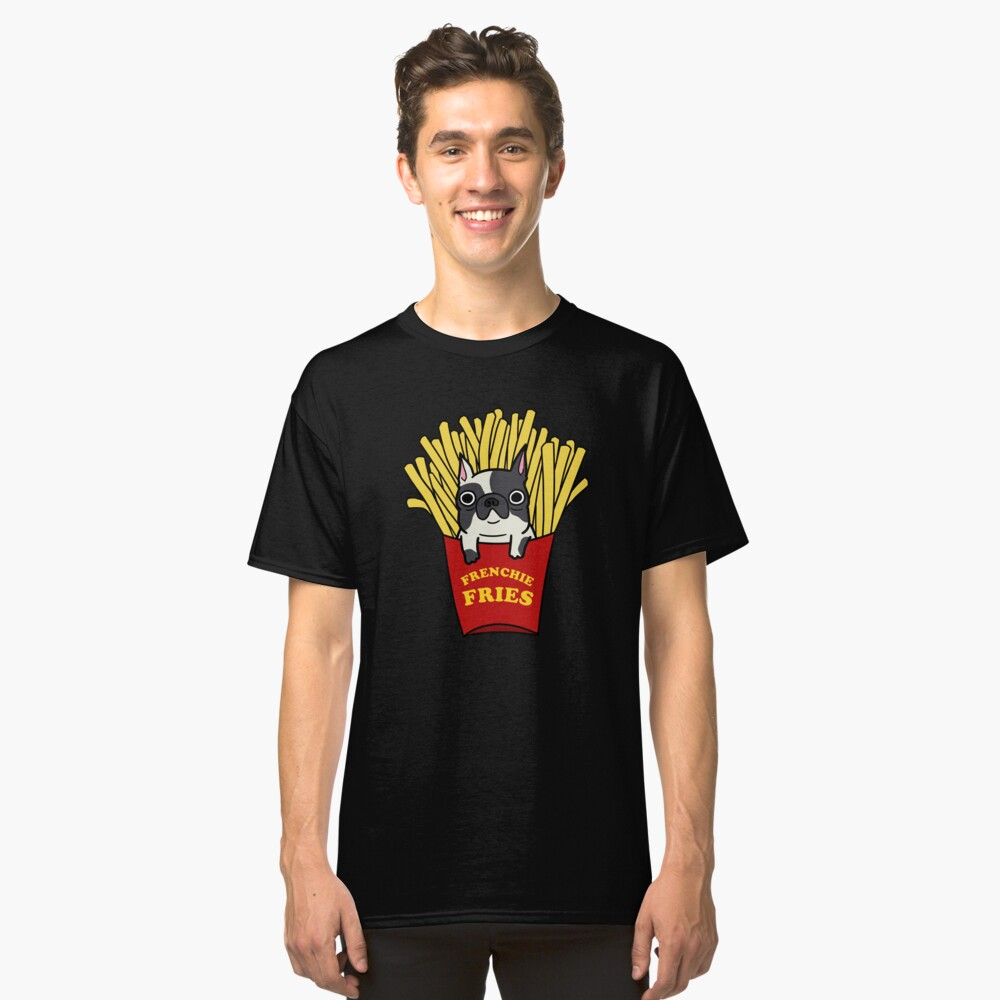 Frenchie Fries Classic T-Shirt Front