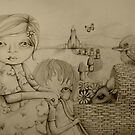 Drawing Collection Two by Karin Taylor by © Karin Taylor