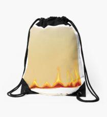 Burning paper Drawstring Bag