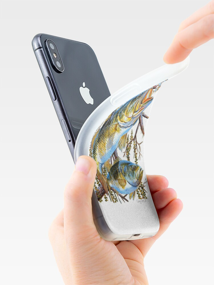 Alternate view of Bass Undercover iPhone Case & Cover