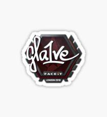 Gla1ve Faceit London 2018 Sticker