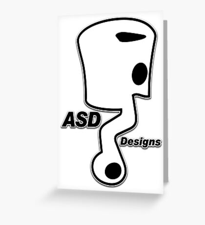 ASD - Anthony Scooter Designs Greeting Card