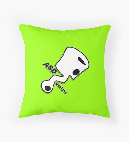 ASD - Anthony Scooter Designs Throw Pillow