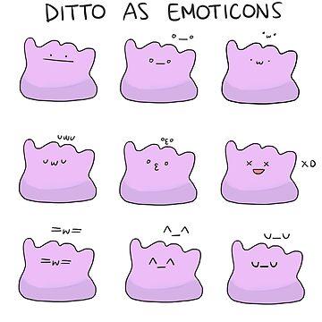 EMOJI-DITTOS by randomsplashes