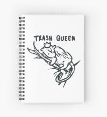 trash queen Spiral Notebook