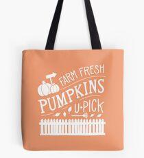U-Pick Pumpkin Patch Tote Bag