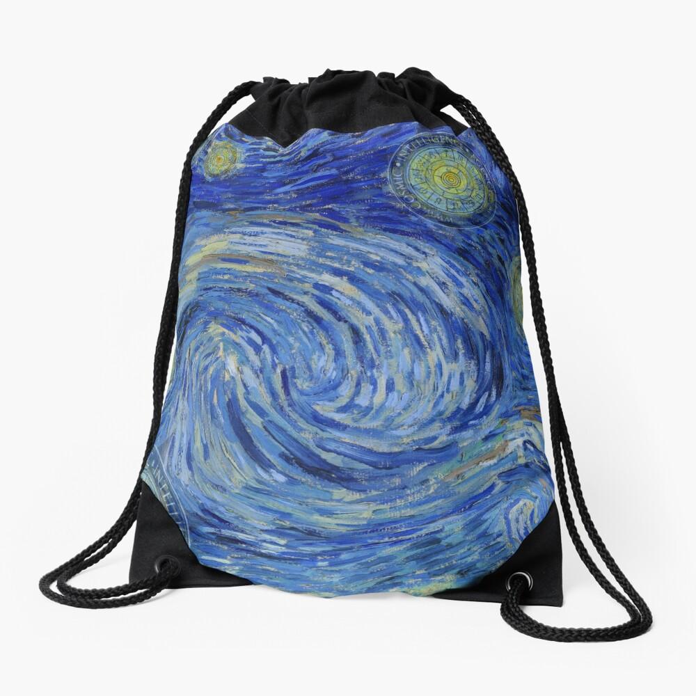 Starry Night - the Yin Yang of Van Gogh Turnbeutel