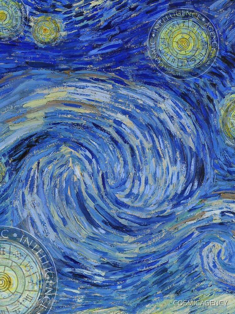 Starry Night - the Yin Yang of Van Gogh von COSMICAGENCY