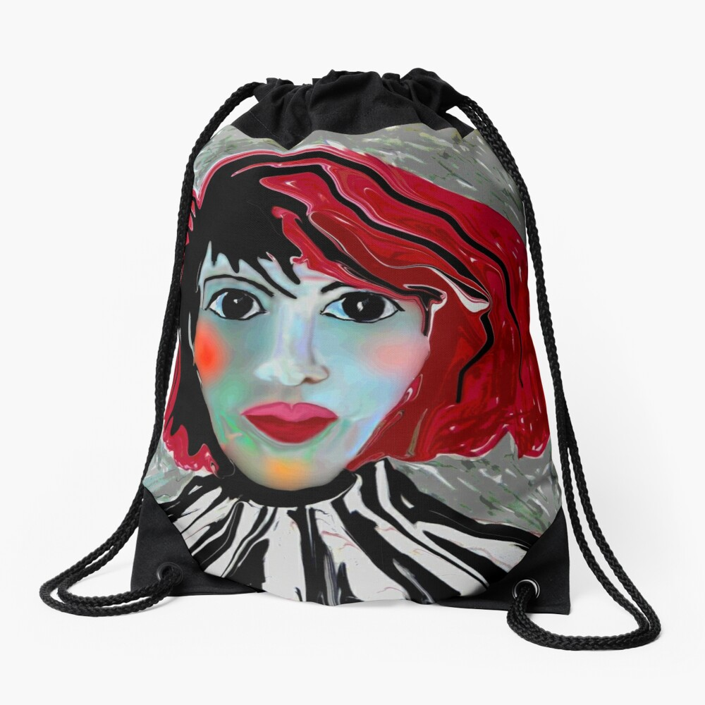 Anime Lee Drawstring Bag