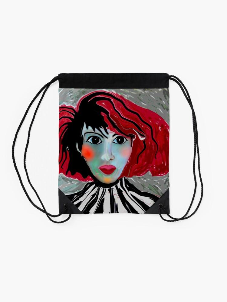 Alternate view of Anime Lee Drawstring Bag