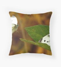 The Willingness of the Great Southern White Butterfly Throw Pillow