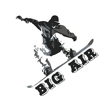 BIG AIR Snowboarding | Tshirt & Gift by Legendemax