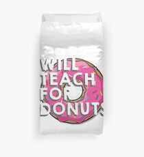 PINK DONUTS! Duvet Cover