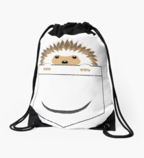 Hedgehog in your pocket! Drawstring Bag