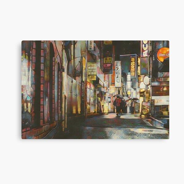 Secret Corridor Canvas Print