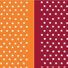 Virginia Tech Stars by Kt Farello Designs