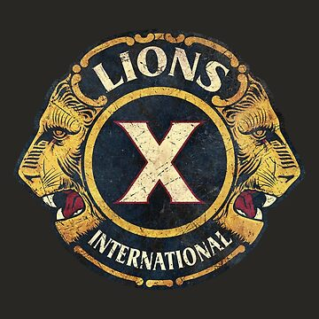 Lions X International by Lidra